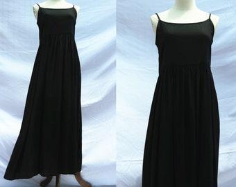 24 color Linen cotton black dress slip long dress sleeveless summer dress linen clothing for women handmade dress sundress
