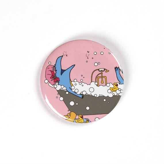 Handbag Mirror Magnet or Bottle Opener I Believe in Father Christmas Badges