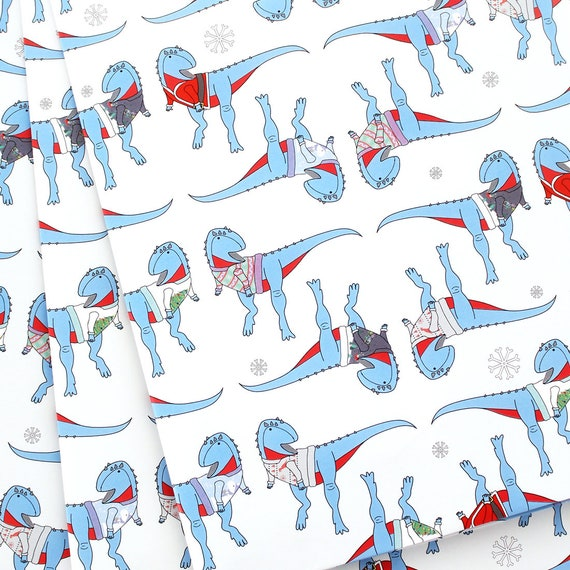 image 0 - Funny Christmas Wrapping Paper