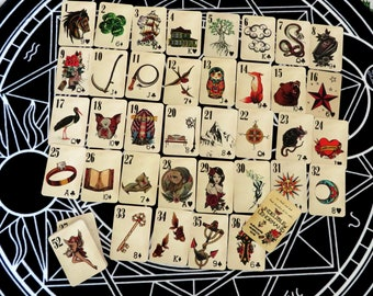 Indelible Lenormand by Alexandre Musruck
