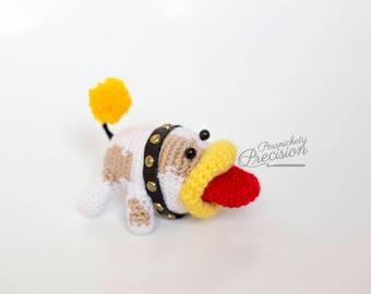 Crochet Poochy (Yoshi's Woolly World)
