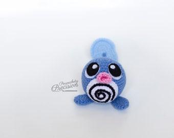 Crochet Poliwag Amigurumi
