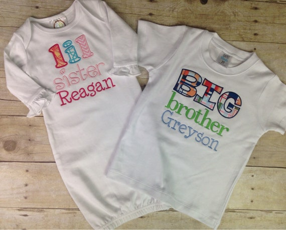 Baby T-Shirt 3-24 Months I Love My Little Brother 7 Colours