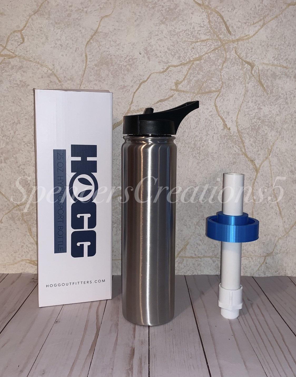 Girl inserts bottle Hydrosport Bottle Attachment For 18oz 25oz 32oz 40oz Etsy