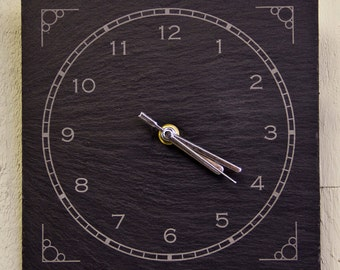 Slate Clock (SR33)