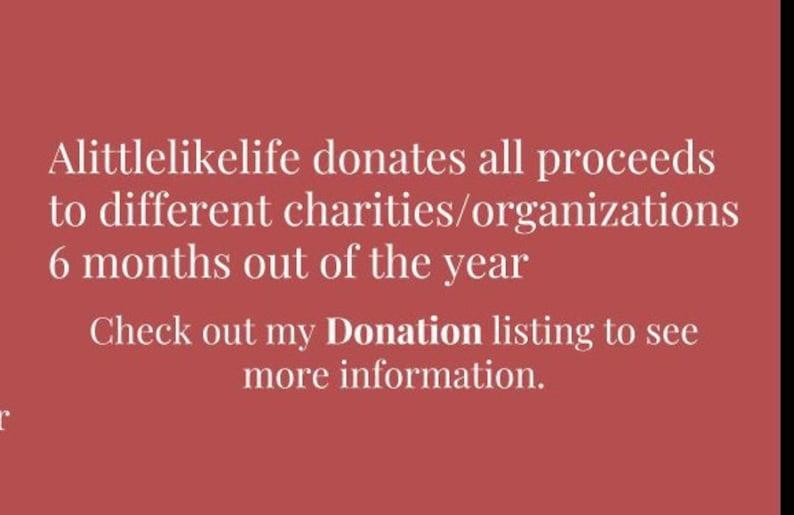 Alittlelikelife Donation Policy