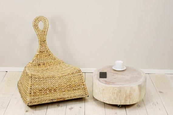 Comodino in legno ceppo tabella tronco lato tavolo rotolamento etsy