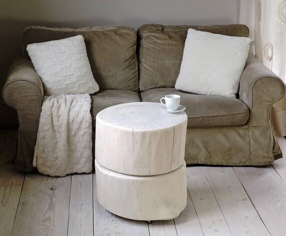 Tree Stump Table Free Tree Studio - White stump side table