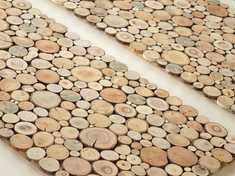 Wooden Wall Art Uk A Set Of 2 Tree Rounds Decor Tree Slice Wall Board Modern Wood Art