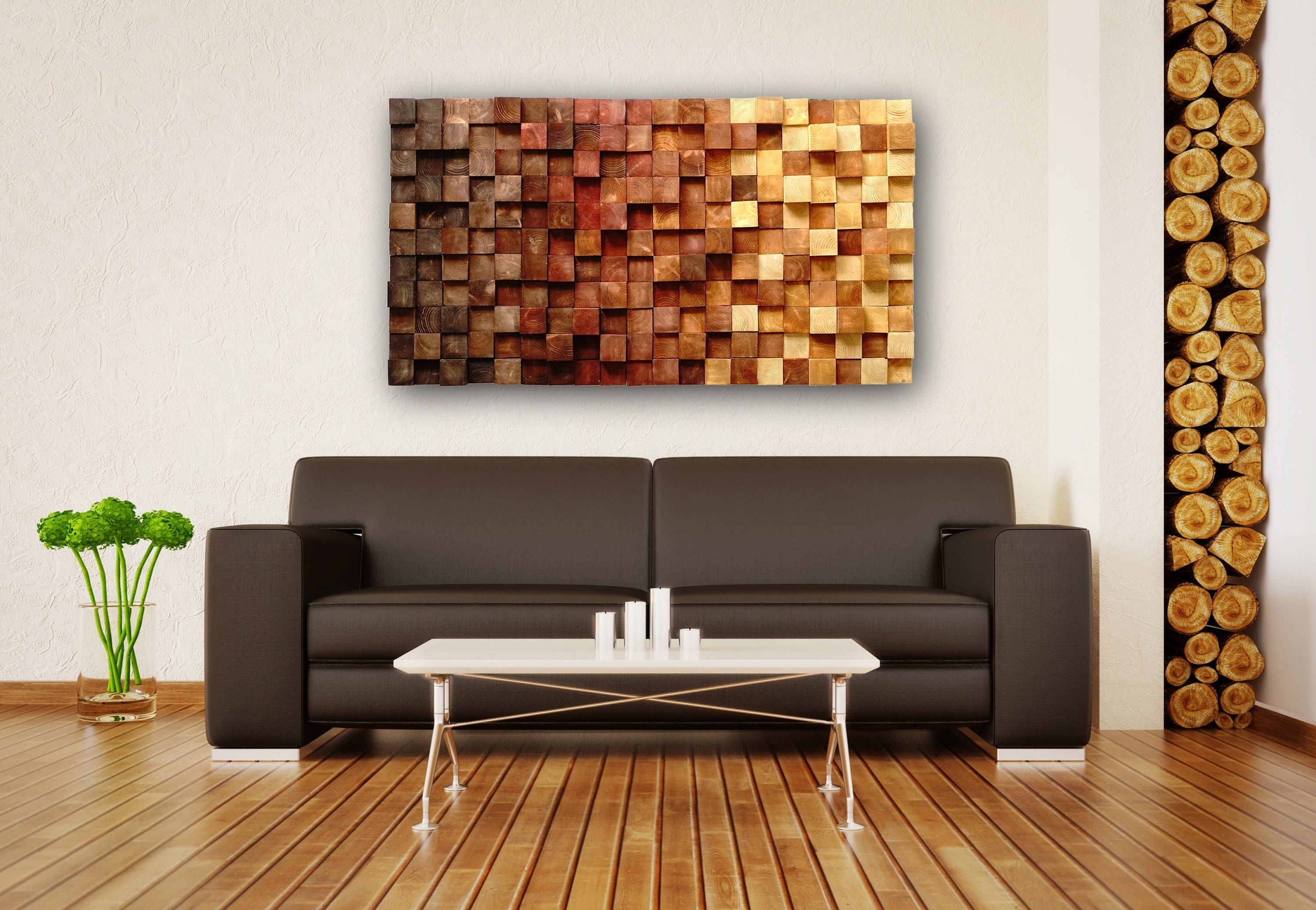Fall Wood Wall Art, Autumn Hanging, Fall Decor, Modern Wood Art, Organic  Wall Art, Nature Inspired Art, Reclaimed Wall Art