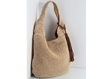 7f8abb2590 Raffia shoulder bag
