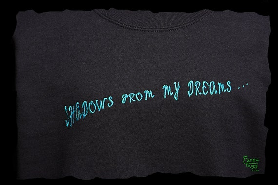 Embroidery Fantasy Clothing Birthday Clothes Wyvern Sweater Jumper Black Shadow Size Mens UK Idea Design Plus Gift Womens Dragon Sweatshirt w5Z6RIq