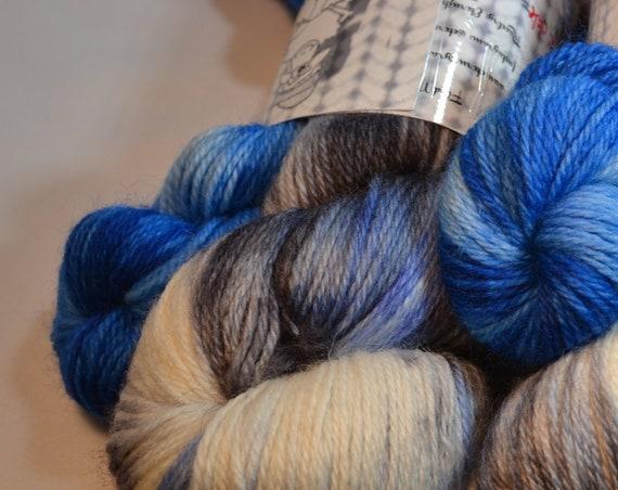 Silver Bells sock set yarn