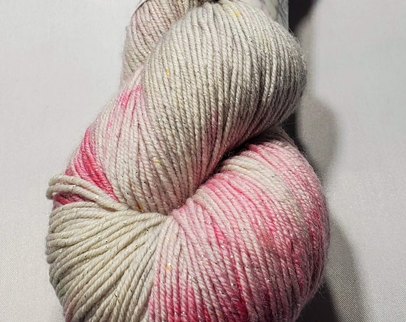 Platinum Rose Sock Yarn