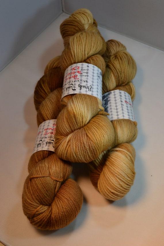 Pecans, sock yarn