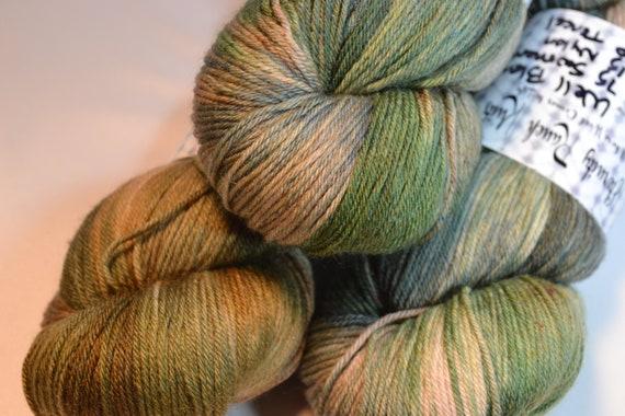 Natural Camo sock yarn
