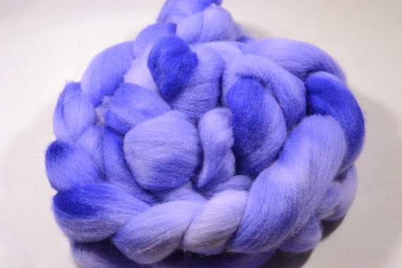 Grapes, Polworth Wool and Silk