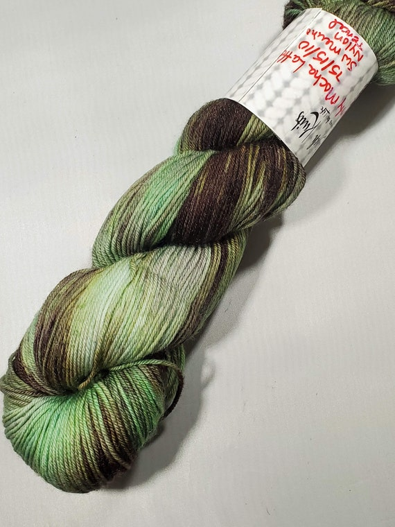 Minty Mocha Sock Yarn 2 shades