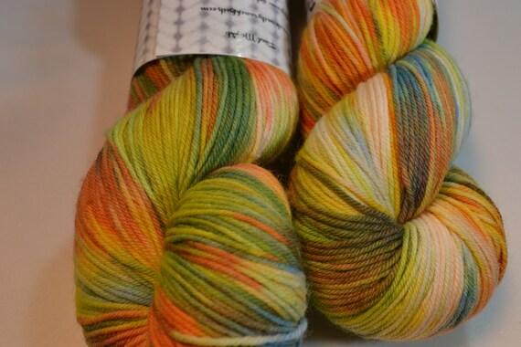 Antique Patina sock yarn