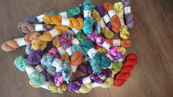 Wholesale Hand Dyed Yarn