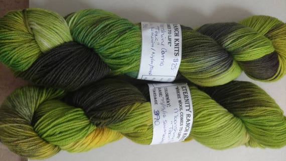 Toxic, Moon Shine Camo©, sock yarn