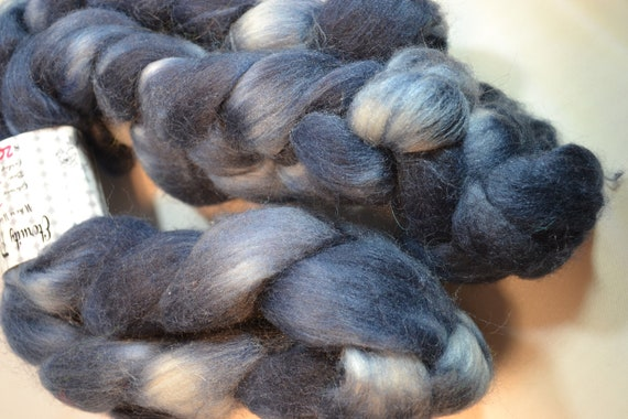 Blued Steel, Polworth Wool and Silk