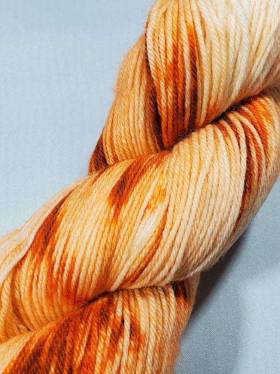 Pumpkin Spice Latte Sock Yarn 2 shades