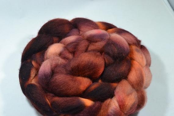Charred Log, Polworth Wool and Silk