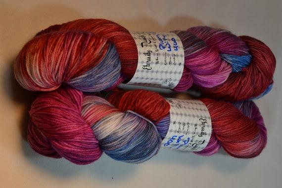 Plum Pudding 400 yd sock yarn