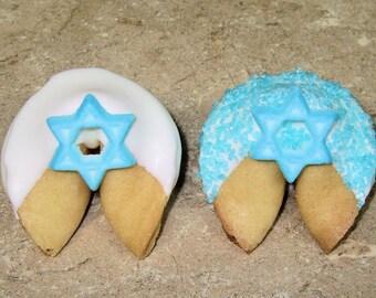 Bat Mitzvah Star of David 12 PINK BAT MITZVAH Fortune Cookies