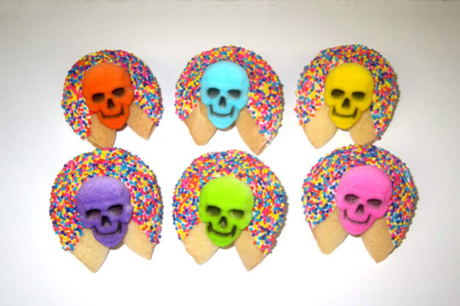 Skull Fortune Cookies