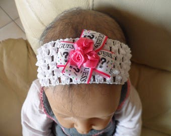 GUESS (0-4 years old) baby headband