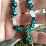 Embrace Your Inner Goddess with Chrysocolla, Apatite, Rose Quartz, Aventurine, Agate, and Jasper Lightworker Weightloss Healing