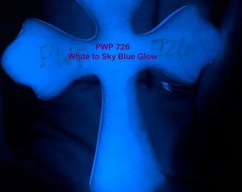 PWP 726 White Powder to Blue Glow