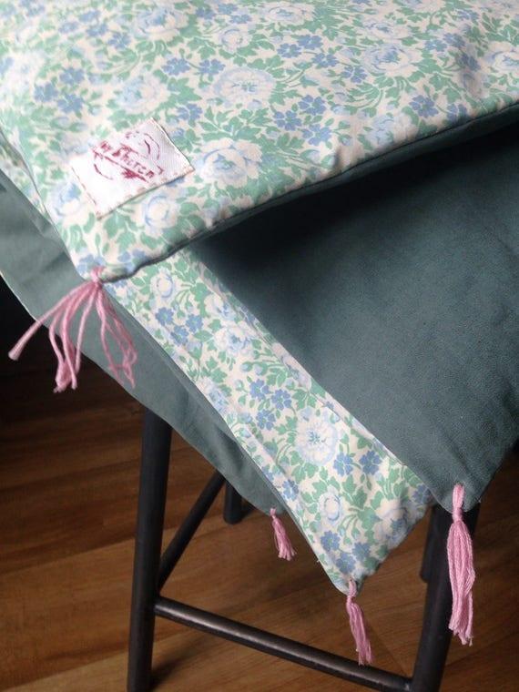dredon enfant bout de lit esprit caravane vintage uniquement etsy. Black Bedroom Furniture Sets. Home Design Ideas