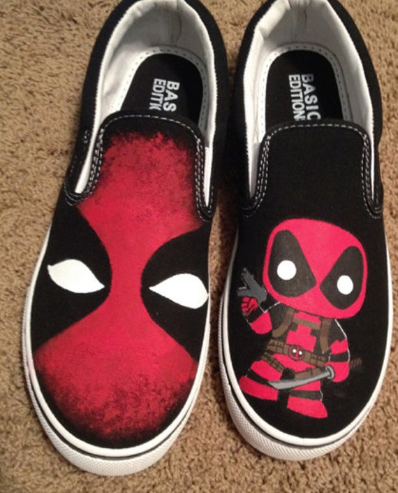 DEADPOOL PAIR shoe charms//cake toppers! FAST USA SHIPPING