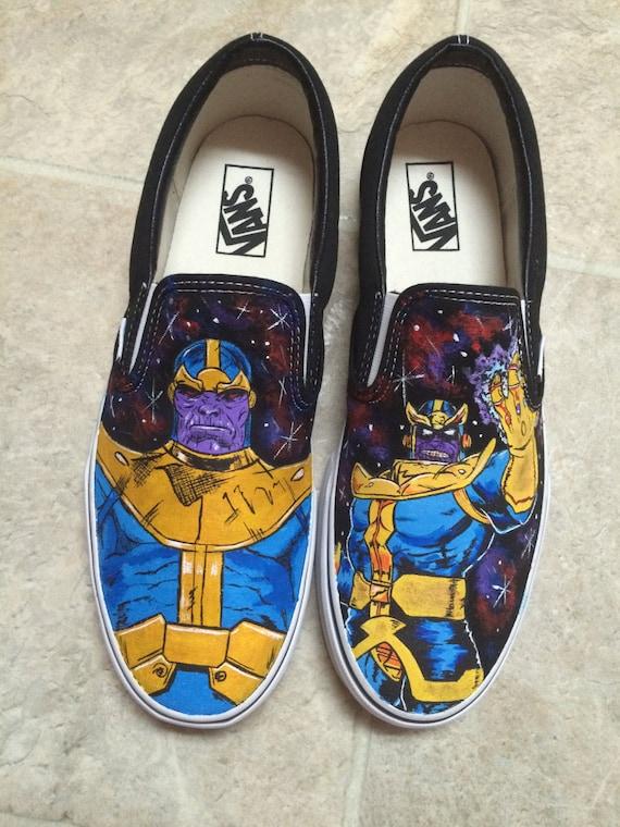 personnalisé Thanos Thanos personnalisé adulte adulte Thanos VansEtsy adulte VansEtsy eCxBord