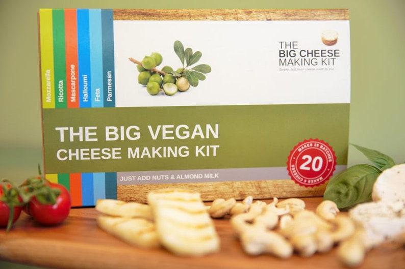 Vegan Food Hamper Vegan Wedding Gift, Vegan Gift Vegan Cheese Making Kit Vegan Gifts Vegan Food Gift best before 20082020