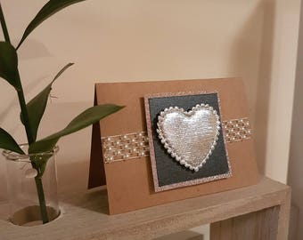 Love Card | Pearl Silver