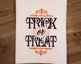 Trick or Treat Machine Embroidery File