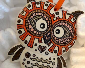 Owl ornament 2018 SALE