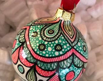 Round ornament 2018 SALE