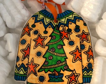 Ugly sweater ornament 2018 SALE