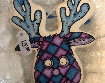 Reindeer ornament 2018 SALE