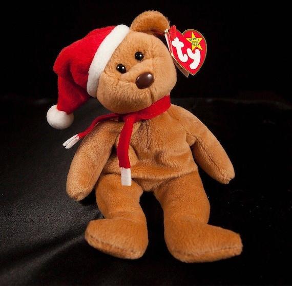 8ef29e19a60 Ty Beanie Baby Holiday Teddy Bear 1997 1996 Style 4200