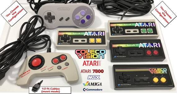 Items similar to Atari Colecovision MSX Commodore Amiga 7800