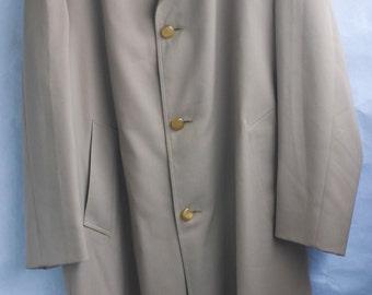 Vintage 60s Aquascutum For Neiman-Marcus Classic Trench Coat. Size 44 Reg.