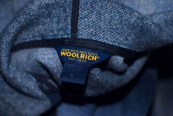 Vintage WOOLRICH John Rich & Bros Blanket Hooded … - image 3