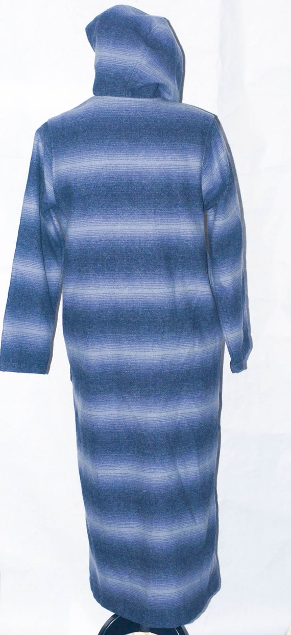 Vintage WOOLRICH John Rich & Bros Blanket Hooded … - image 4