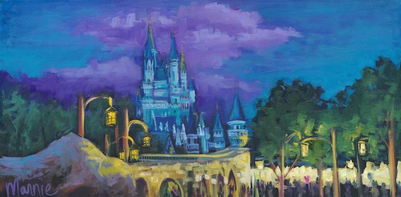 After the show disney castle disney fan art castle image 1